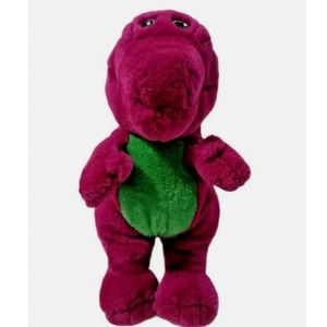 1992 Barney Plush With Closed Mouth Lyons group